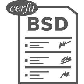 BSD CERFA Borderau Suivi des déchets