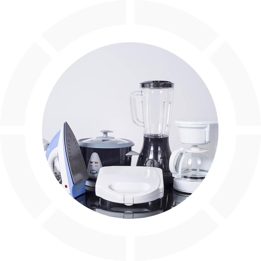 Equipement électriques petits appareils ménagers de cuisine
