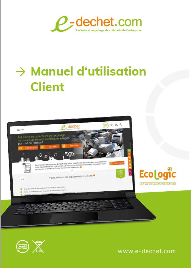Manuel d'utilisation de e-dechet.com
