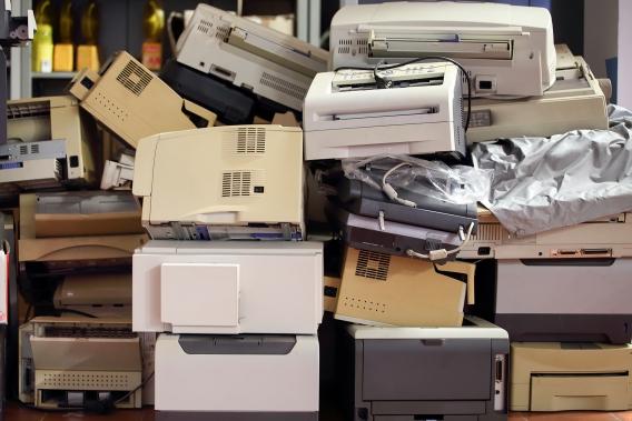 recycler imprimante DEEE